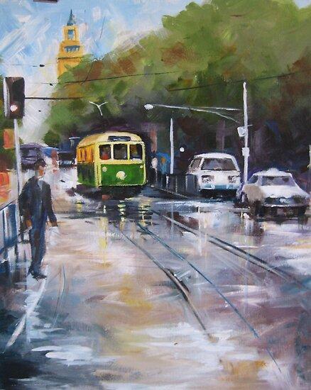 Melbourne Tram by gwyntay
