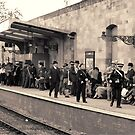 Railway station rush hour  by patjila