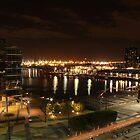 Night Skies Over Docklands by squidypoo