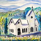 Wilderness White Church by lorikonkle