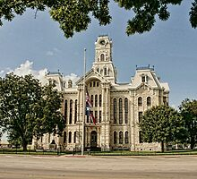 Hill County Courthouse by Susan Russell