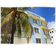 Ocean Drive Miami Beach Poster