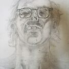 Chuck Close study- pencil by KatieEBligh