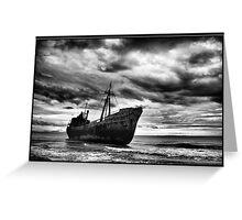 Endless Voyage - Shipwreck in Gytheio Greeting Card