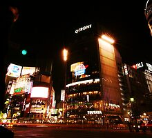 Crossing Shibuya II by Matthew Pugh