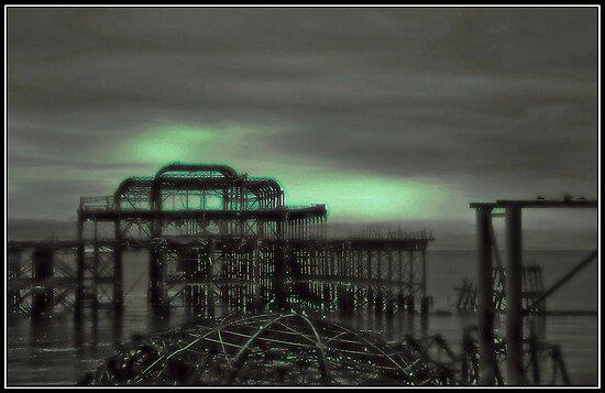 Emerald Pier by Nicole Carman Photography