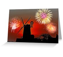Cley Fawkes Night Greeting Card