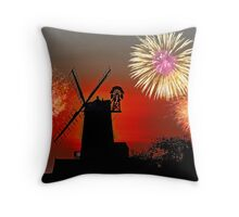Cley Fawkes Night Throw Pillow