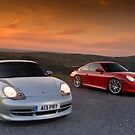 911 GT3s by supersnapper