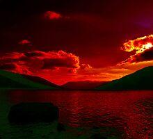 Red.....Loch Earn by Paul Bettison