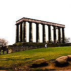 Columns in Edinburgh by keyconcept