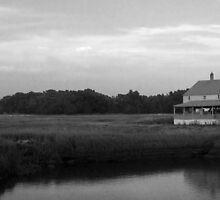 On the Edge of the Marsh, Essex MA by BethCarrDesigns