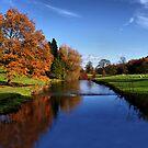 River Through Broughton Estate by Sandra Cockayne