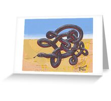 Red Belly Greeting Card
