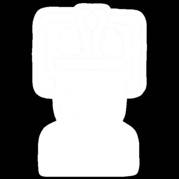 Cyberman Robot - white by redcow