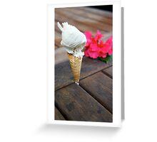 Imitation Ice Cream Greeting Card