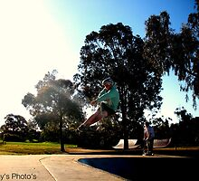 Jake Turndown Knox Bowl Skate Park by SamDunn