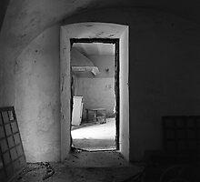 Old house -Vieja casa de campo- by Rafael López