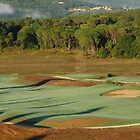 16th Hole at Tenuta di Bagnaia-Siena, Italy by Deborah Downes