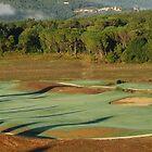 16th Hole at Tenuta di Bagnaia-Siena, Italy by Deborah Downes