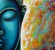 Blue Buddha by Gayle Utter