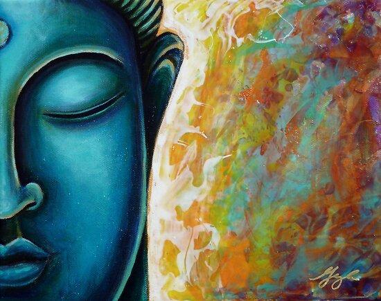 Blue Buddha by Gayle Utter