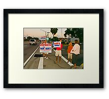 It's over Framed Print