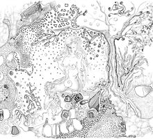 Still Point in a Sea Change (Contemplating Eve) by Regina Valluzzi