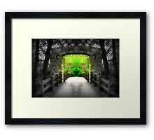 Enter Paradise © Framed Print