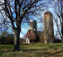 Silent Farmstead by wiscbackroadz