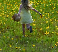 Skipping Through the Daisies! by Gabrielle  Lees