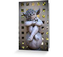 A sleeping angel Greeting Card