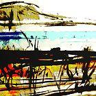 vineyard facing the bay #5 by banrai