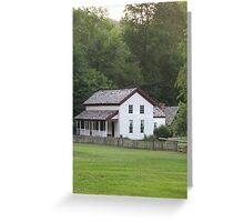 Gregg-Cable Mill House in Cades Cove Greeting Card