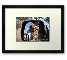 Yippee We're Going Camping Framed Print