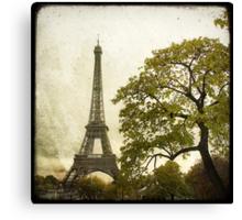 Autumnal Paris Canvas Print