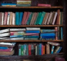 A Painting In The Library by AnsonFineArt