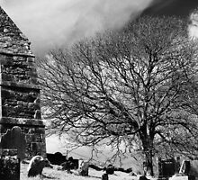 A Fine Day - Irish Graveyard by gloriart
