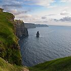 Cliffs Of Moher, Sunset, County Clare, Ireland by upthebanner