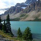 Bow Lake Alberta Canada by Ravred