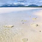 Golden sands and Blue sky, Isle of Harris by KerryElaine