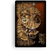Venetian mask n. 2 Canvas Print