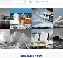 Wicked Waves - 9 November 2010 by The RedBubble Homepage