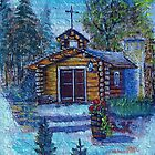 Chapel In The Woods by wiscbackroadz