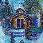 Chapel In The Woods by wiscbackroadz