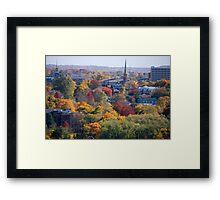Autumn Poughkeepsie NY Framed Print