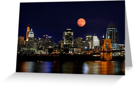 Cincinnati Skyline by Phil Campus