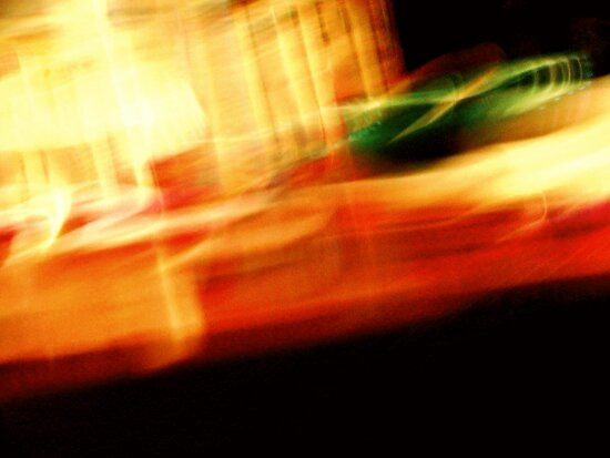 The Crap On My Coffee Table: Fun With Shutter Speed by Margaret Bryant