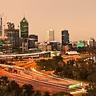 Perth Twilight from Kings Park by Jun Song