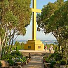Remember the ANZACs - Mt Macedon Cross by mspfoto